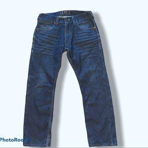 Levis 514 Mens Slim Straight Blue jeans size 33x30
